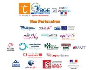 Logos des partenaires de TecGeCoop