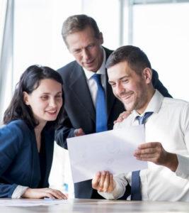 équipe d'accompagnateurs en création d'entreprise